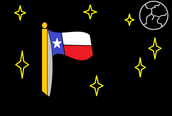 My flag from Microsoft Paint!