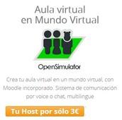 Aula virtual en Mundo Virtual desde 3,00 €/mes