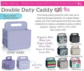 Double Duty Caddy - $12