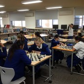 Chess in the Library
