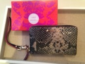 """Chelsea Tech Wallet Leather """"Black Snake"""" was £75, my sample sale price £50"""