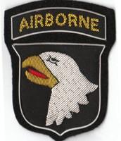 101st Airborne Badge