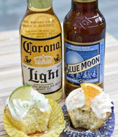 satisfy your taste buds with our new beer cupcakes!