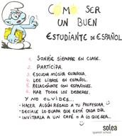 Para ser un buen estudiante de español
