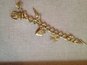 Wonderland Charm Bracelet $49.00