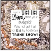 TRUNK SHOW PERKS for my Hostesses