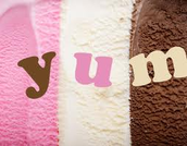 Ice Cream  CUPS (Neopolitan)