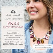 $1200 Merchie Incentive for January!