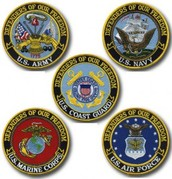 United State Military Seals.