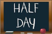 Half Day of School on Tuesday-September 20th