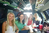 Limo ride from airport to MGM