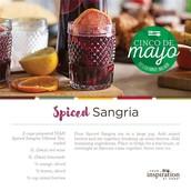 Spiced Sangria - Celebrating Cinco de Mayo!