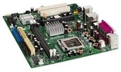 The motherboard: