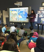Author Hena Khan Visit