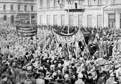 March 1917- riots broke out in Russia