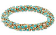 *SOLD* Vintage Twist - Turquoise $19.50