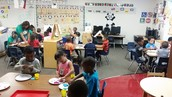 working in centers