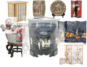 Many Styles of  Decorating Merchandise to Choose From.