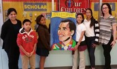 Saldivar Students and Staff Extend Thanks to Trustee Solis