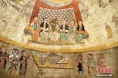 Descubren antiguo fresco de la dinastía Yuan en Shaanxi