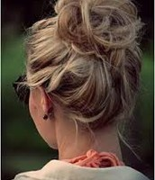How to: Do a Messy Bun with Thick Hair