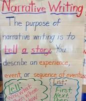 Narrative Writing...
