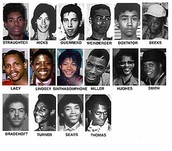 Photographs of the victims