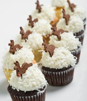 Rudolph & the Reindeer Cupcakes!