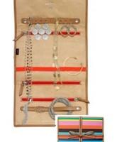 Bring it - Multistripe  Jewlery organizer; orig $39; sale $15