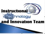 Instructional Technology Summer Training Schedule.
