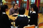 Human Library at Sai Kei Wan School