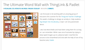 Padlet + Thinglink = Interactive Word Walls!