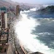Aumento del nivel del agua de los mares