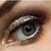 New Year glitter glam