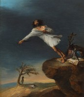 Satire of the Romantic Suicide - Leonardo Alenza
