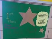 Attendance Award for Mrs. Webb's Class