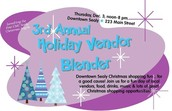 3rd Annual Holiday Vendor Blender