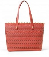 The Avalon Tote - Geranium Perf