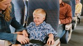 First time on a Airplane