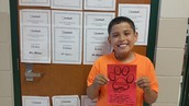 Josh was voted ROAR student of the month by his classmates!