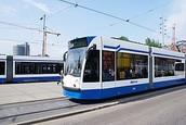 Dit is een tram