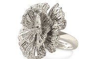 Geneve Lace Ring - Silver (Adjustable)