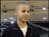 Curry as kid