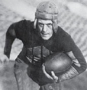 Jim Thorpe Playing Football