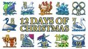 12 Days of Christmas...