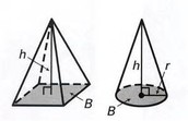 10.7 Volumes of Pyramids and Cones