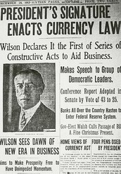 December 23, 1913: Federal Reserve Act