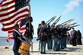 Training of the Massachusetts 54th