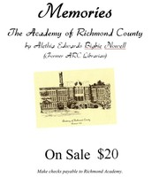 The Academy of Richmond County - Memories
