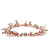 Renegade Cluster Bracelet Rose Gold